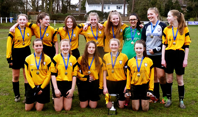 U15s County Final Champions