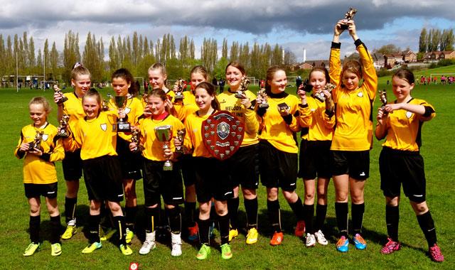 U12's Girls Dynamoes