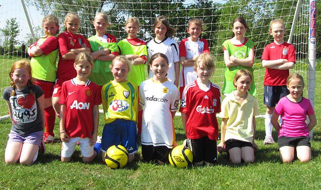 Under 10's Dynamoes Girls