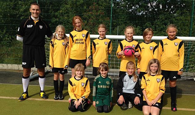 Under 12's Girls Rangers